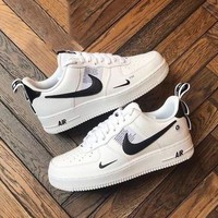 NIKE AIR FORCE 1'07 LOW Tide brand men's and women's versatile fashion flat low-top sports shoes
