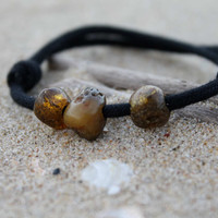 Surf Bracelet Men Baltic Amber Friendship Bracelet Natural Fashion Organic Dude Jewelry Fossil Sunny Gift for him Boy Dad Eco Frinedly