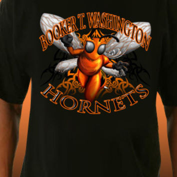 Booker T. Washington Hornets Tribal T-Shirt