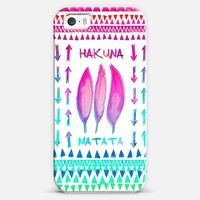 *** HAKUNA MATATA **** iPhone 5s case by Monika Strigel | Casetagram