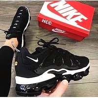 Bunchsun Nike Air Vapormax Plus Popular Women Men Air Cushion Sport Running Shoes Sneakers Black