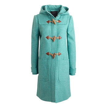 J.Crew Womens Wool Melton Toggle Coat