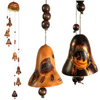 Fish Gourd Wind Chime from Peru