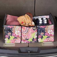 Collapsible Trunk Organizer with Removable Cooler
