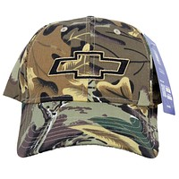 Chevy Hat Camoflauge Embroidered Cap