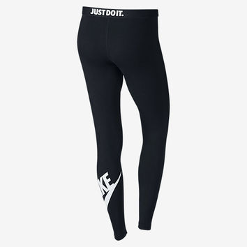 The Nike Leg-A-See Logo Women's Leggings.