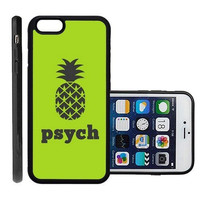 iPhone 4 4S Case ThinShell TPU Case Protective iPhone 4 4S Case Shawnex Psych Pineapple