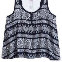 Flowy Printed Tank | Girls Tops Clothes | Shop Justice
