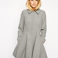 ASOS Dolly Skater Coat