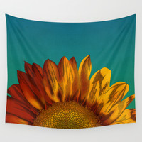 A Sunflower Wall Tapestry by Megs Stuff...