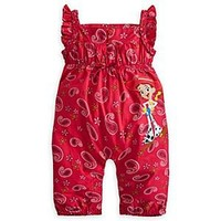 Jessie Woven Romper for Girls | Disney Store