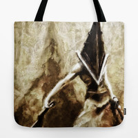 Silent Hill Pyramid Head Tote Bag by Joe Misrasi | Society6