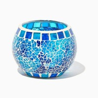 Mosaic Glass Candleholder | Home and Gift Accessories - Poolside Chic | charming charlie
