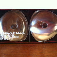 Selandia New in the Box Stainless Steel Candle Holders set of 2