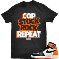 OutRank Apparel Repeat Shattered 1's Tee