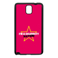 Celebrity Hater Black Silicon Rubber Case for Galaxy Note 3 by Chargrilled