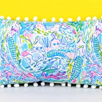 LILLY PULITZER: Medium Pillow - Mermaid