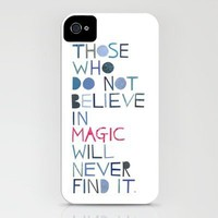 Believe in magic... iPhone Case by Madi | Society6