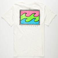 Billabong Spuds Mens T-Shirt White  In Sizes