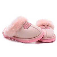 UGG Women Casual Wool Slipper Shoes