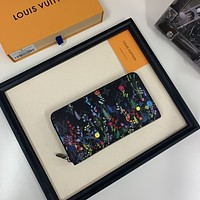 LV Louis Vuitton MONOGRAM CANVAS ZIPPY WALLET