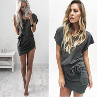 New Fashion Summer Sexy Women Dress Casual Dress for Party and Date = 4725184836