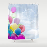 hello there life Shower Curtain by Sylvia Cook Photography
