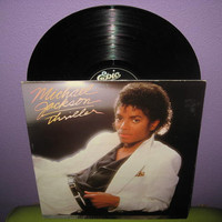 Vinyl Record Album Michael Jackson - Thriller LP 1982 King of Pop Classic Icon Dance