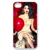 Top Fantastic Phone Cases Selena Gomez Snap-on Hard Back Cover Case for iPhone 4 4s