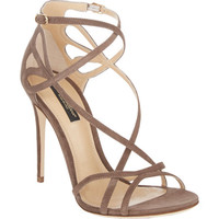 Cutout Crisscross-Straps Keira Sandals