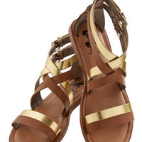 ModCloth Festival Brandish Your Brilliance Sandal