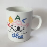 Koala Blue Mug Korner of Australia Coffee Cup