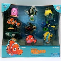 disney parks pixar finding nemo figure cake topper playset new with box