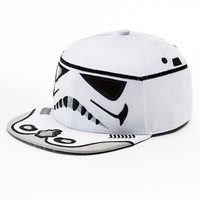Star Wars Storm Trooper Sublimated Flatbill Cap - Boys, Size: One Size (White)