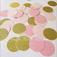 Party Confetti, Pink And Gold Glitter, Girls Baby Shower, Bridal Shower Supply, Wedding Decoration, Birthday Party Table Scatter, 150 Piece