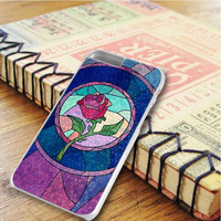 Disney Princess Beauty And The Beat Rose Stained Glass iPhone 6 Plus | iPhone 6S Plus Case