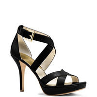 Evie Patent Leather Stiletto Sandals | Lord and Taylor