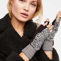 Holland Color Block Fingerless Gloves