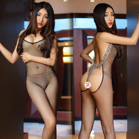 Fashion Women Pantyhose Sexy Body Thigh High Over Knee Sex Costume Slips Thick Fishnet Stockings Sheer Lace Sex Lingerie