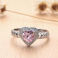 Pretty In Pink Be Mine Ring