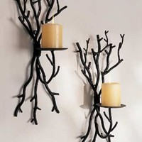 Twig Bunch Wall Sconce