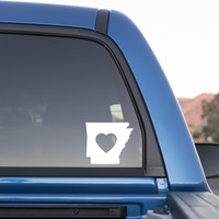 Arkansas Love Sticker for Cars and Trucks