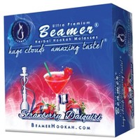 Strawberry Daiquiri Beamer® Ultra Premium Hookah Molasses 50 Gram Box. Huge Clouds, Amazing Taste!® 100 % Tobacco, Nicotine & Tar Free but more taste than tobacco! Compares to Hookah Tobacco at a fraction of the price! GREAT TASTE, LOTS OF SMOKE & SMELLS G