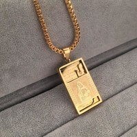 Gift Shiny New Arrival Stylish Jewelry Hot Sale Fashion Hip-hop Club Necklace [6542767619]