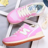 New balance Fashionable and comfortable leisure sports Women shoes Pink