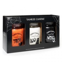 Wicked, Tricky & Boo (Online & Catalog Exclusive) : Large Jar Gift Set : Yankee Candle