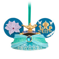 Disney Jasmine Ear Hat Ornament | Disney Store