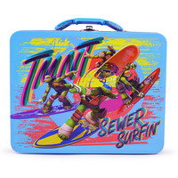 TMNT - Tin Lunch Box - Sewer Surfin