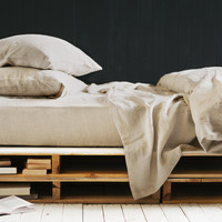 Major Minor Quilt Cover - Natural