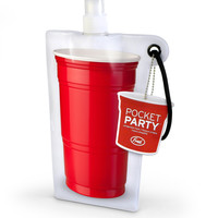 Pocket Party Flat Flask